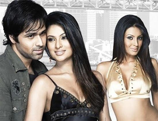 Emraan Hashmi, Sayali Bhagat and Geeta Basra on the poster of The Train