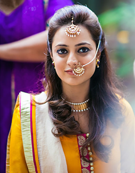 Actor Nisha Aggarwal looked stu