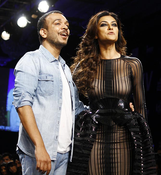 Amit Aggarwal and Sushmita Sen