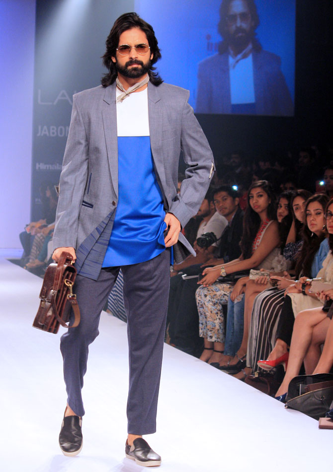 Model Amit Ranjan in a Anuj Bhutani creation.