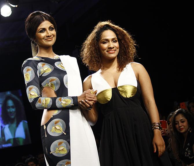 Shilpa Shetty and Masaba Gupta