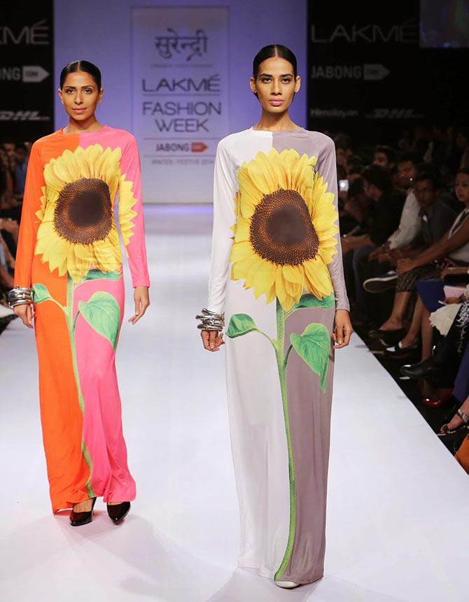 Models in Yogesh Chaudhary creations