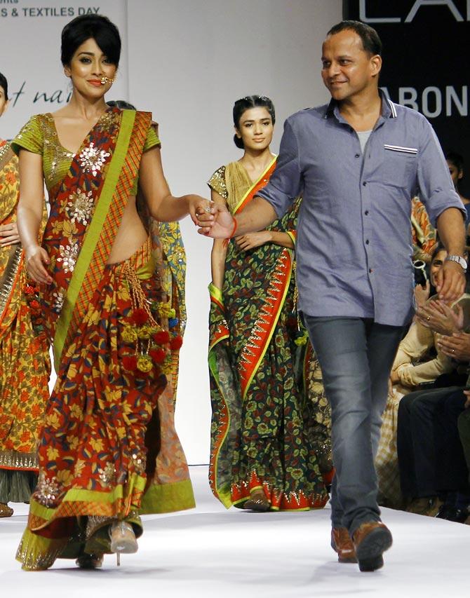 Shriya Saran with Shashikant Naidu.