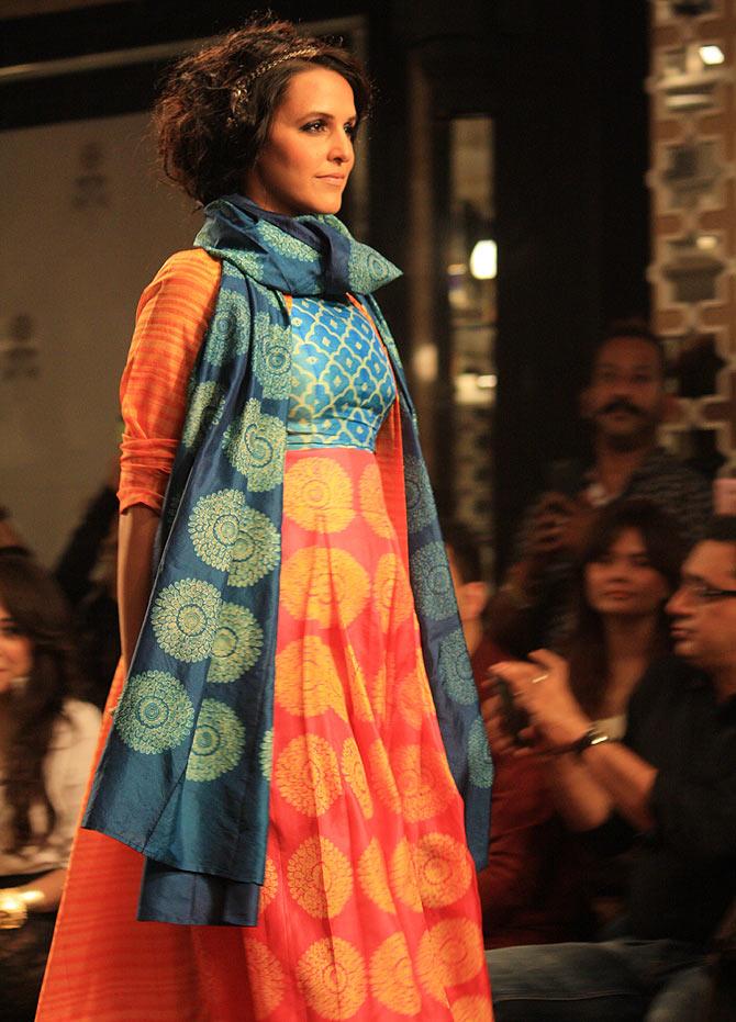 Neha Dhupia, the showstopper.