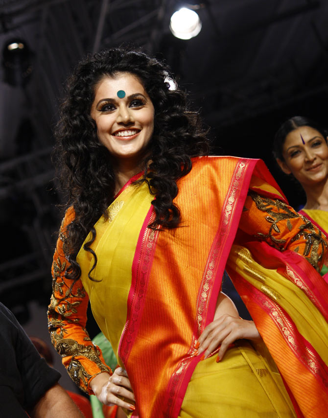 Taapsee Pannu in a Gaurang Shah creation.