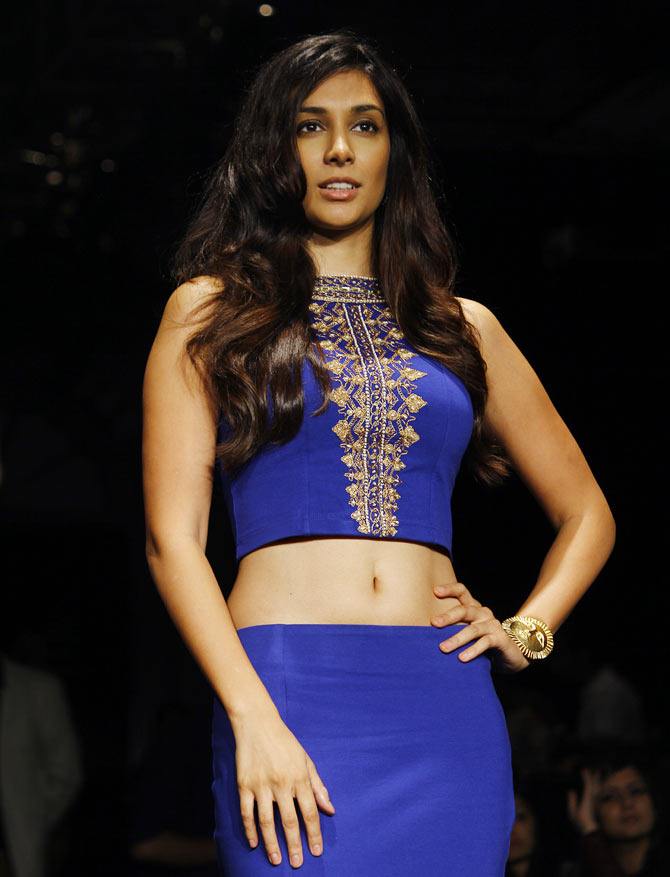 Preeti Desai at Lakme Fashion Week Winter/ Festive 2014.