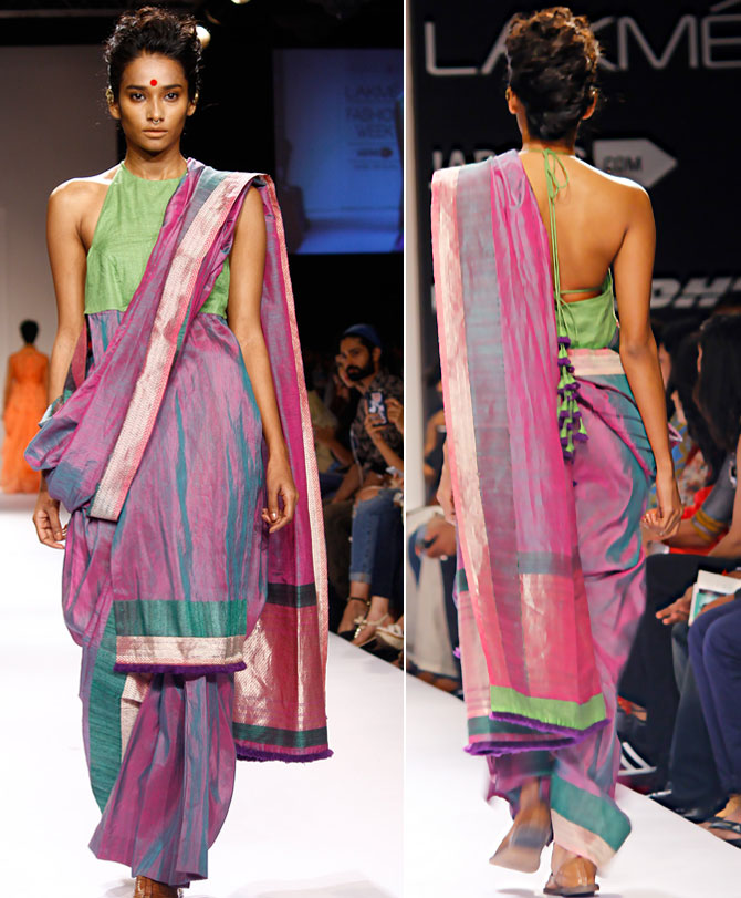 A model in a Vaishali S creation