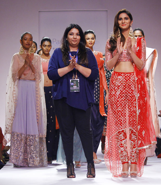 Payal Singhal with Vaani Kapoor