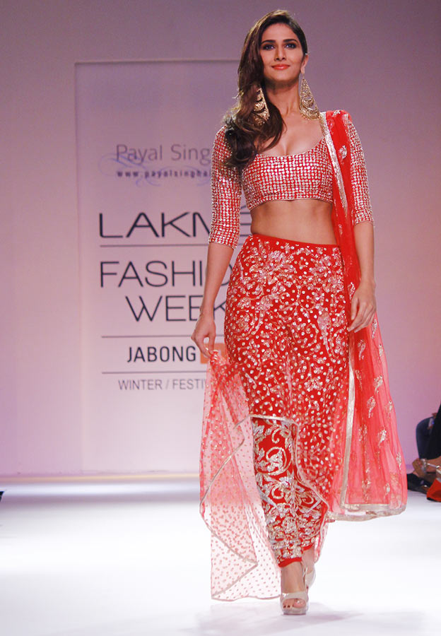 Vaani Kapoor in a Payal Singhal creation.