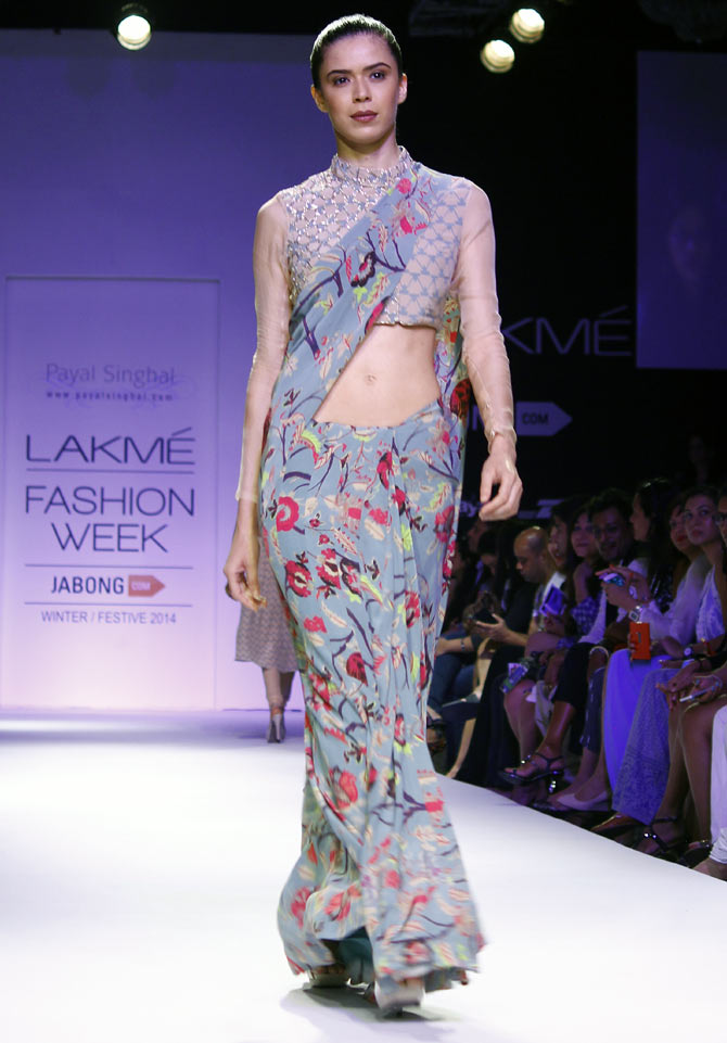 Sucheta Sharma in a Payal Singhal creation.