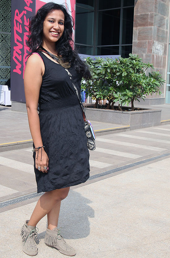 Tunali Mukherji at Lakme Fashion Week Winter/ Festive 2014.