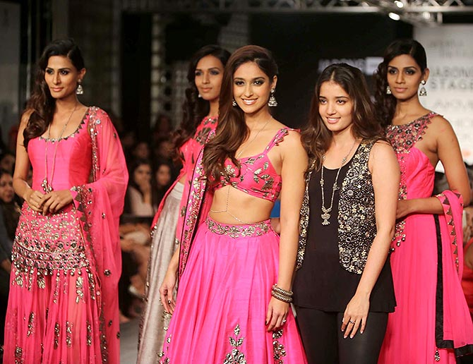 Ileana D'Cruz and Arpita Mehta