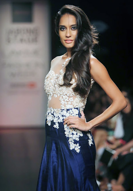 Lisa Haydon for Ridhi Mehra