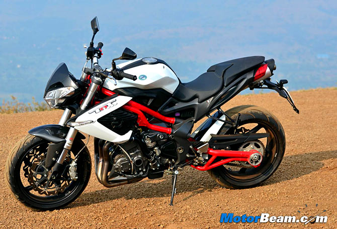 Will you buy this Italian bike for RS 9 lakh?