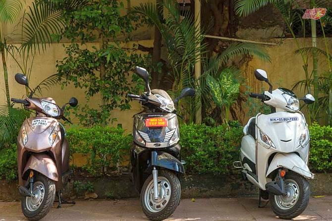 Are Hero Maestro and Mahindra Gusto better than Honda Activa?