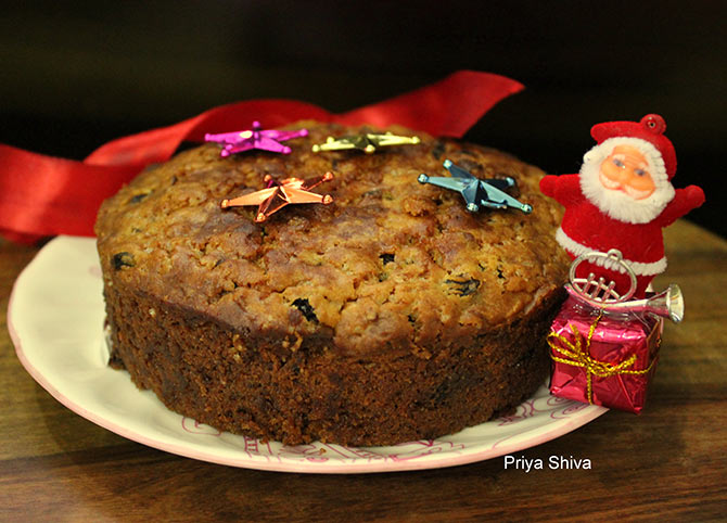 Eggless Fruit Cake Images : Recipe: How to make Eggless Fruit Cake - Rediff.com Get Ahead