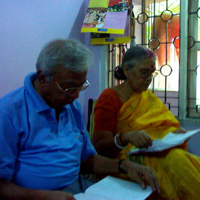 Parents' love story: He could not bear the separation
