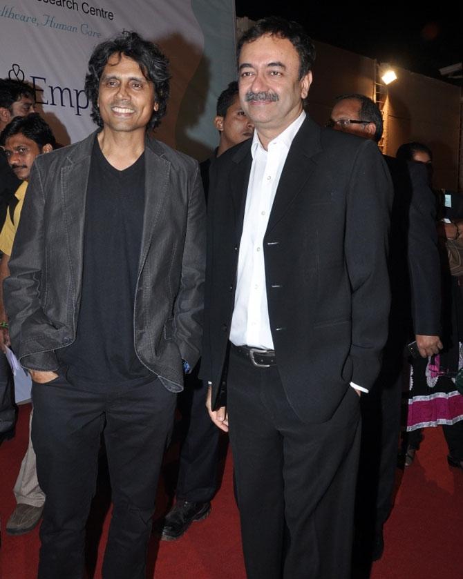 Nagesh Kukunoor and Rajkumar Hirani
