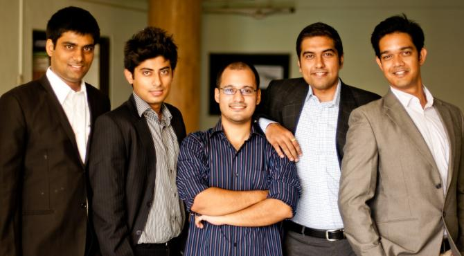 From left: Ankit Mehta, Amardeep Singh, Ashish Bhatt, Vipul Joshi and Rahul Singh
