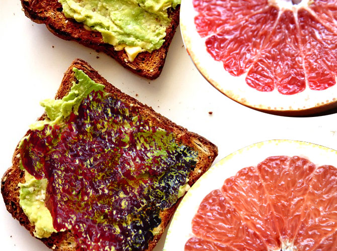Grapefruit Toast