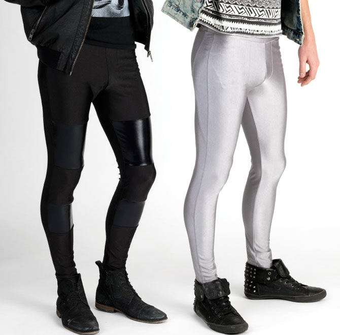 Meggings become the latest fashion trend for men