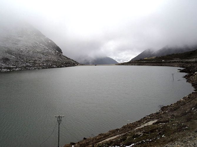 A lake at Sela Pass in Arunachal Pradesh