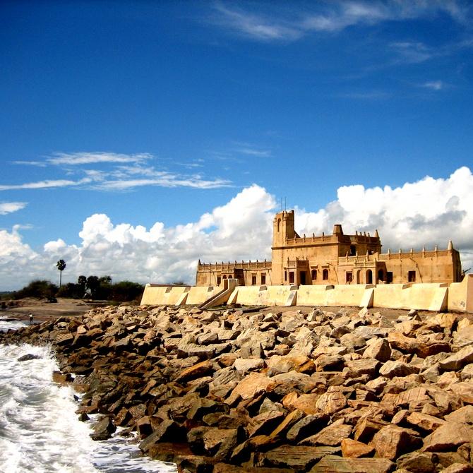 Fort Dansborg in Tharangampadi (Tranquebar) in Tamil Nadu