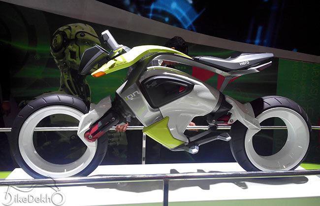 Hero MotoCorp's hub-less concept bike ION