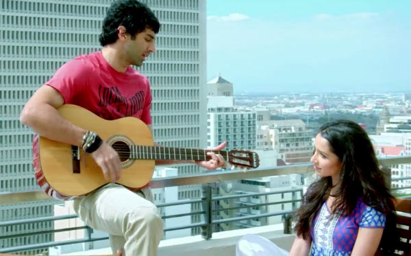 In Aashiqui 2, the male character sacrifices his music career for his love interest
