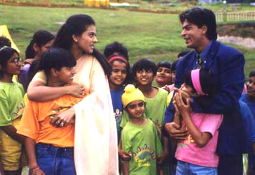 In KKHH, an eight year old helps unite her widowed father with his college bestie