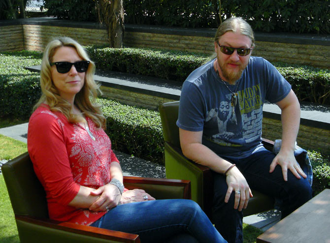 Susan Tedeschi and Derek Trucks in Mumbai, February 14