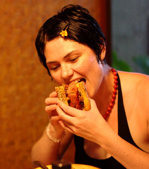 Red meat slows down the digestion system and puts stress on your body's organs.