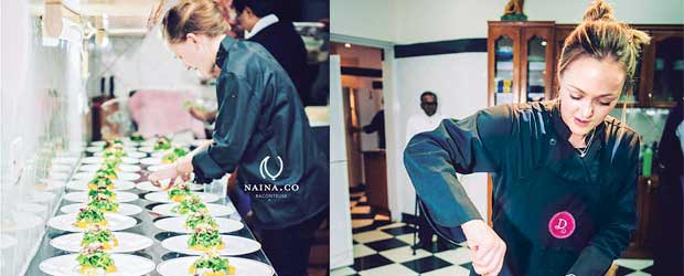 Damson Food provides catering services both for private and corporate events.