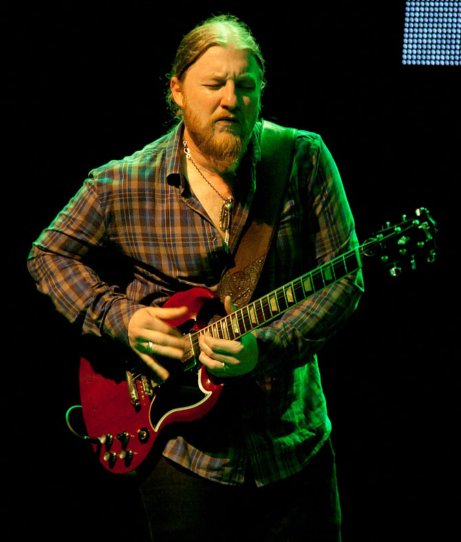 Derek Trucks in concert at the Mahindra Blues Festival, Mumbai, February 15.