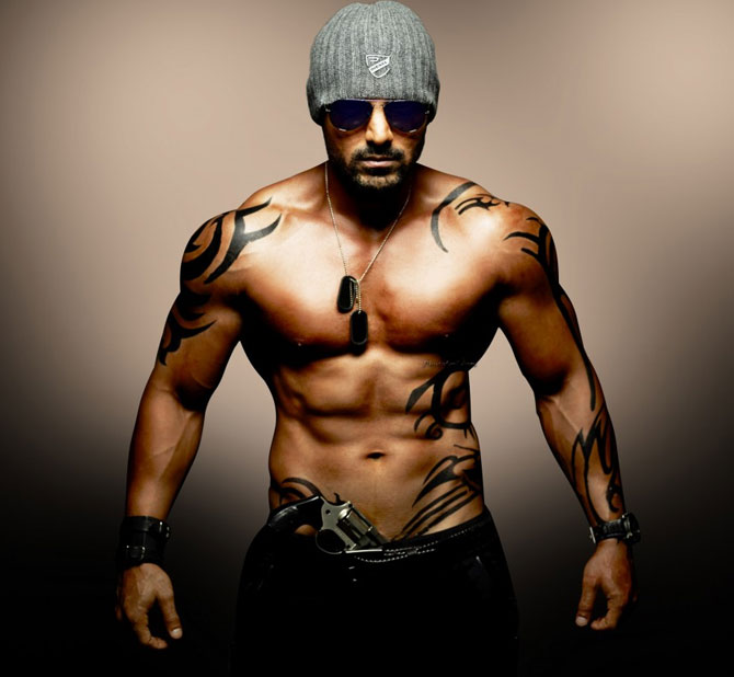 John Abraham had suddenly put on weight thanks to all the emotional eating.
