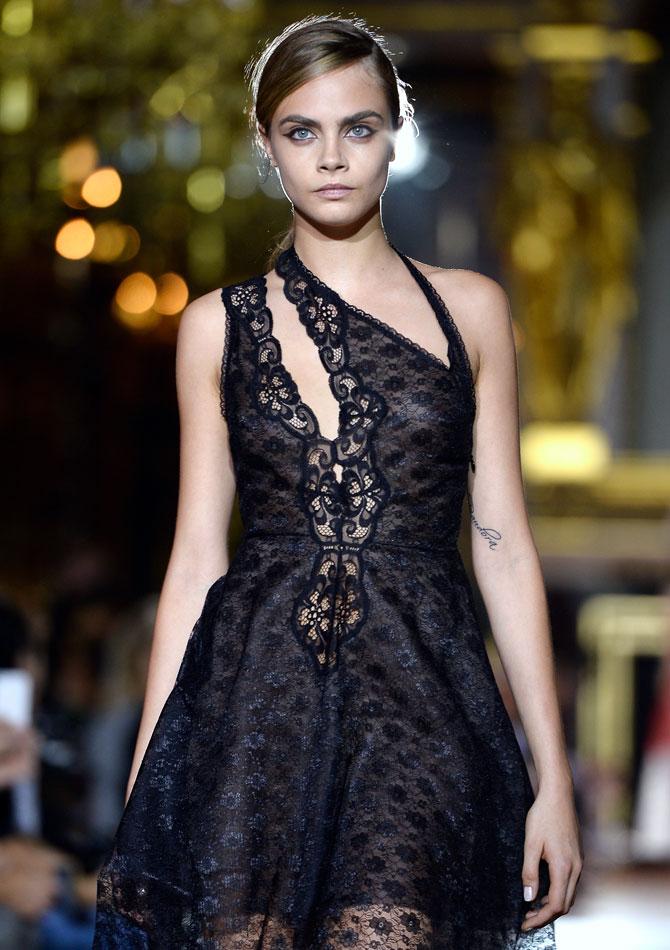 English Fashion Model Cara