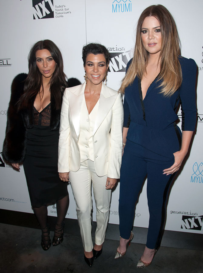 Kardashian sisters launch clothing line for little girls