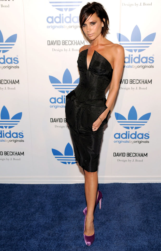 I never shave my legs: Victoria Beckham