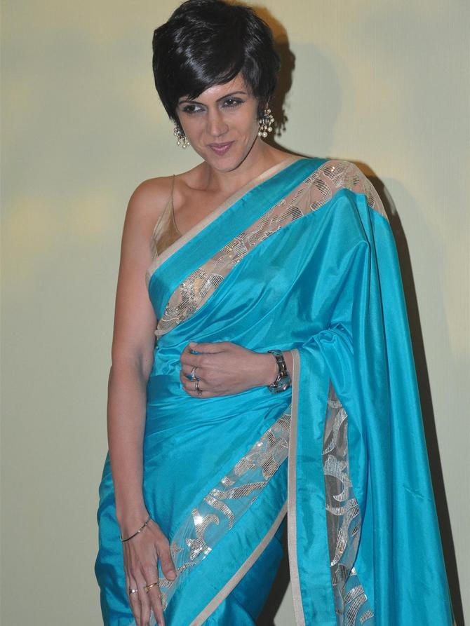 Mandira Bedi will be among those who will make a debut at this season's Lakme Fashion Week.