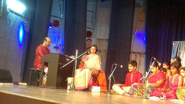 Anil Srinivasan at a recital