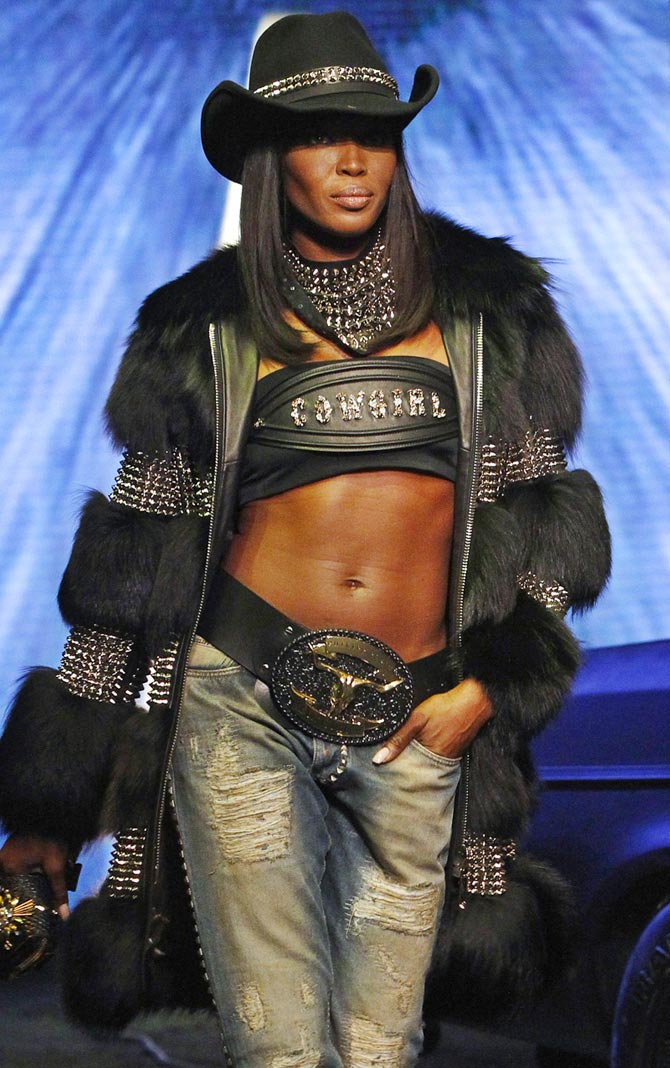 Naomi Campbell for Philipp Plein
