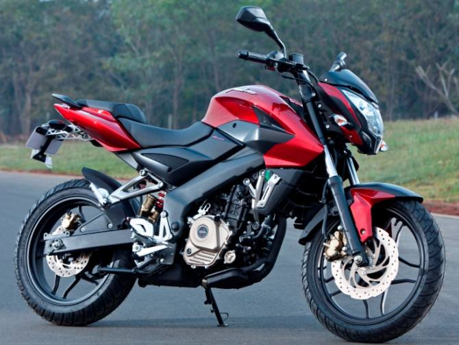 The Bajaj Pulsar 200NS