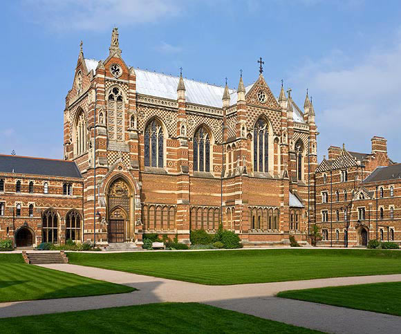 University of Oxford in England, United Kingdom