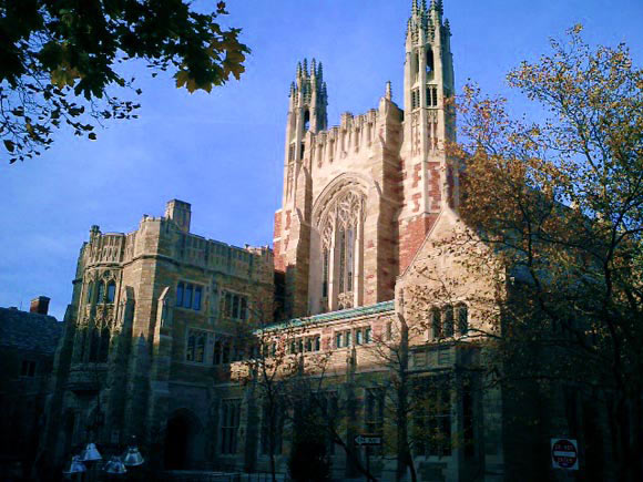 Yale University in New Haven, Connecticut, USA