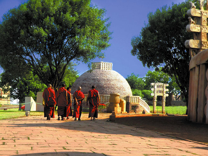 The Great Stupa in Sanchi