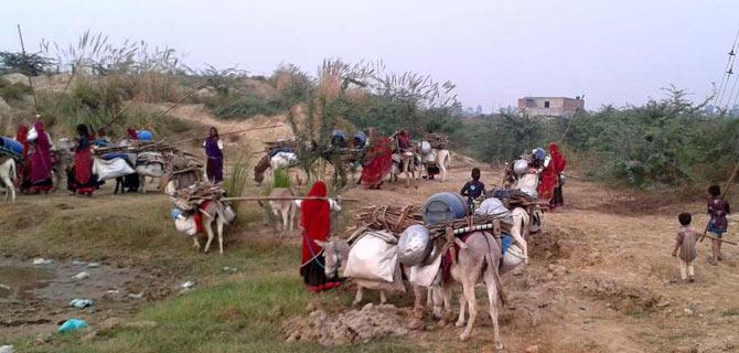 A caravan in Haryana