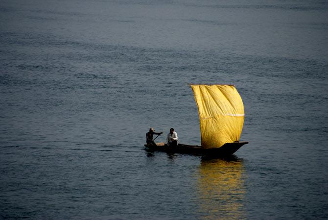 Betwa River, Madhya Pradesh.