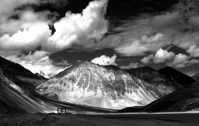 Pangong Tso, Ladakh.