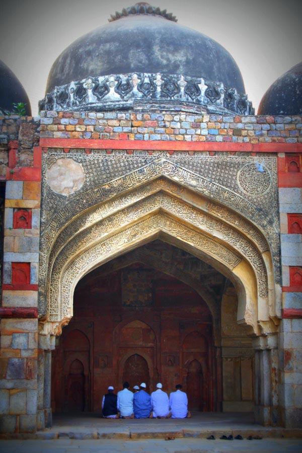 Sikandar Lodhi mosque, New Delhi.