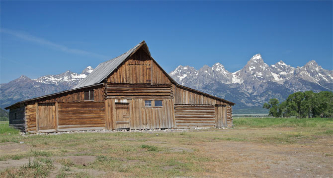 Grand Teton National Park, USA.